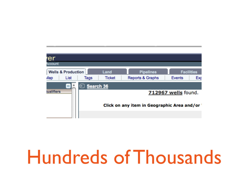 Hundreds of Thousands