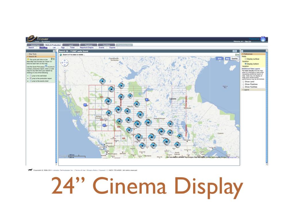 "24"" Cinema Display"