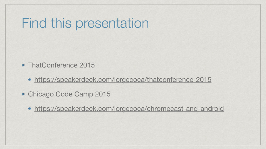 Find this presentation ThatConference 2015  htt...