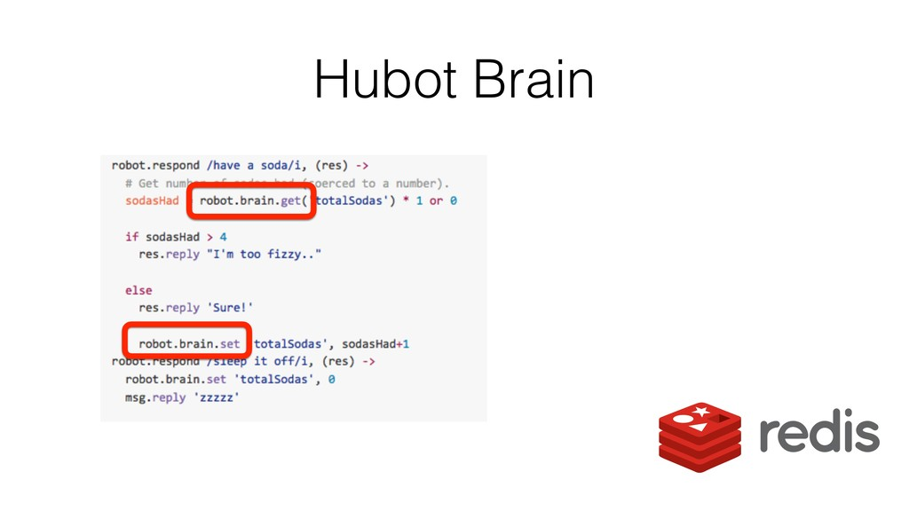 Hubot Brain