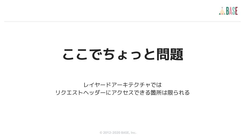 © 2012-2019 BASE, Inc. © 2012-2020 BASE, Inc. こ...