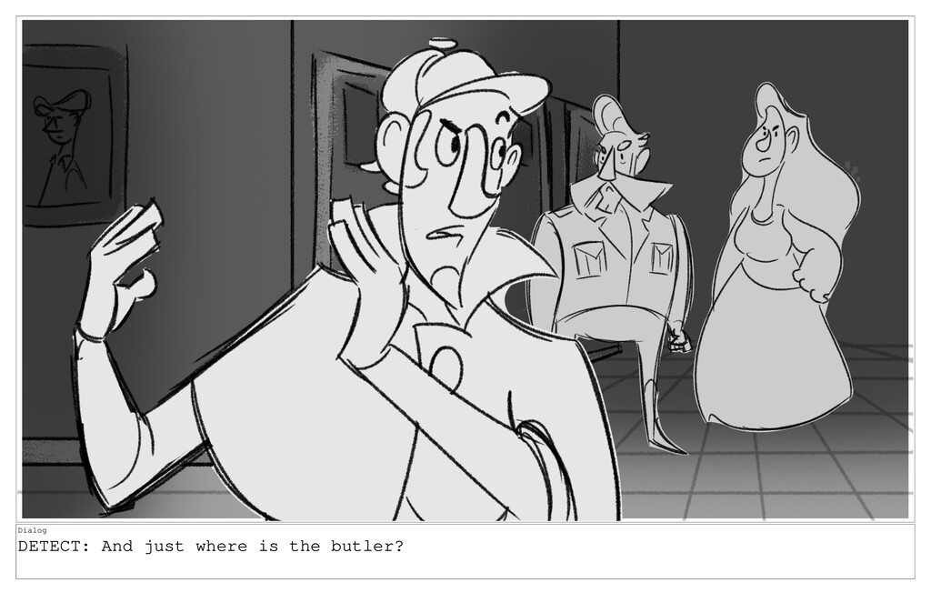 Dialog DETECT: And just where is the butler?