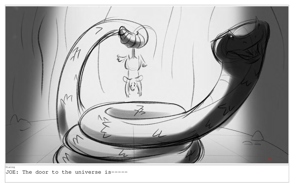 Dialog JOE: The door to the universe is-----