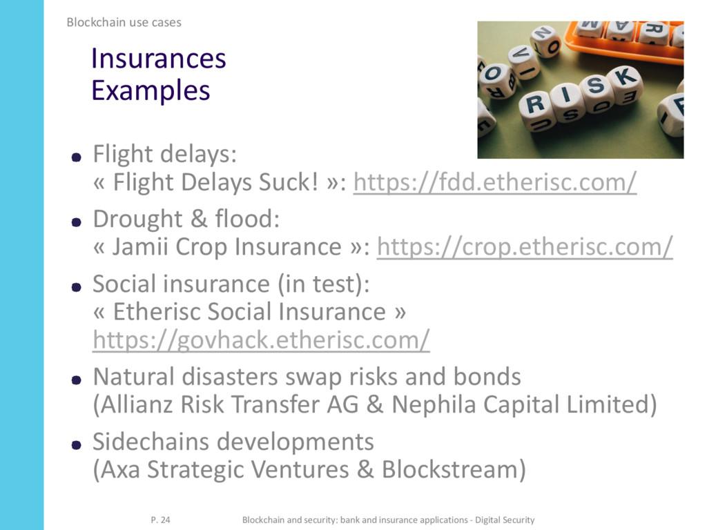 Insurances Examples Flight delays: « Flight Del...