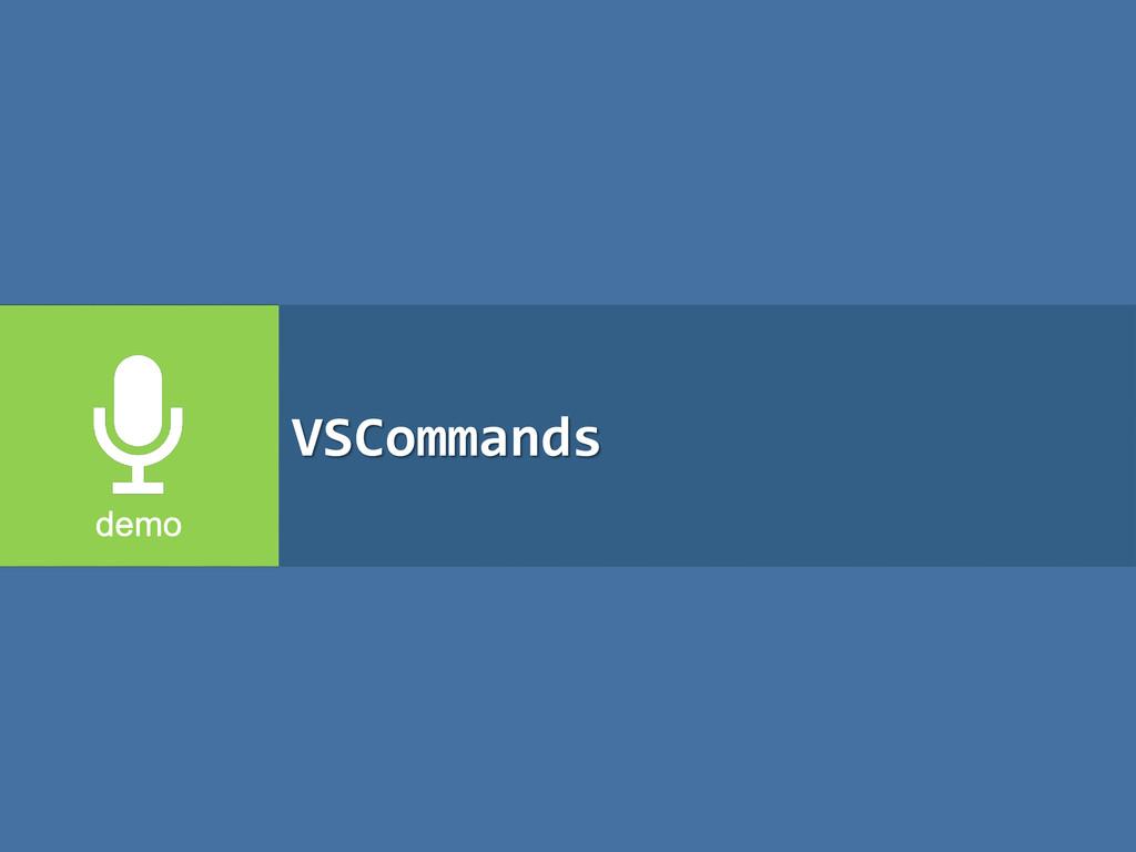 VSCommands