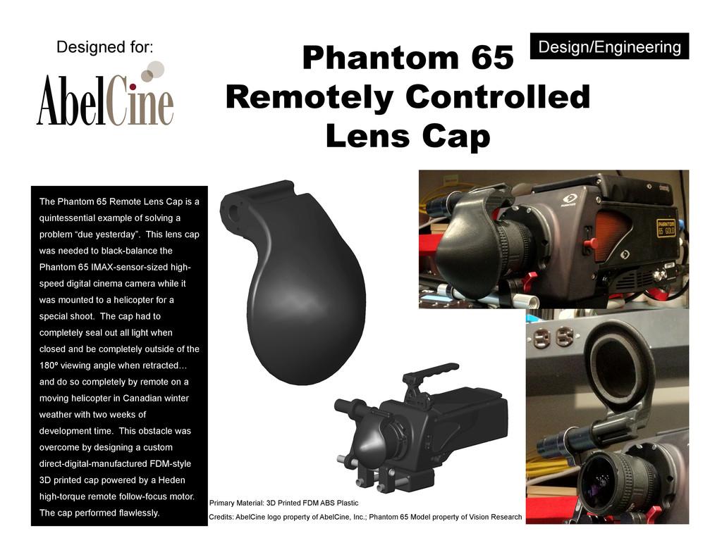 Design/Engineering Phantom 65 Remotely Controll...