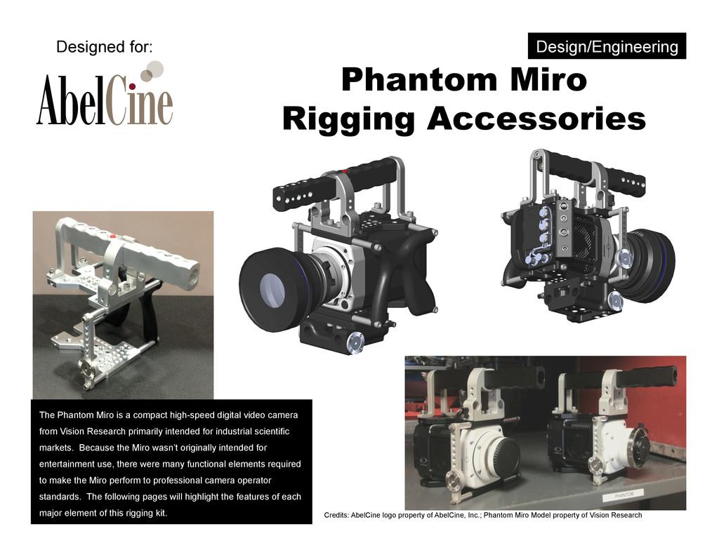 Phantom Miro Rigging Accessories Credits: AbelC...