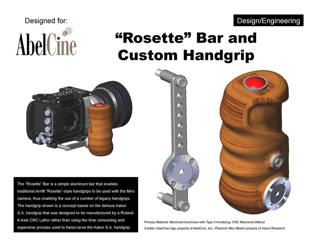 """""""Rosette"""" Bar and Custom Handgrip The """"Rosette""""..."""