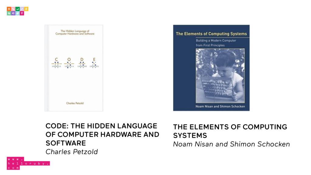 CODE: THE HIDDEN LANGUAGE OF COMPUTER HARDWARE ...
