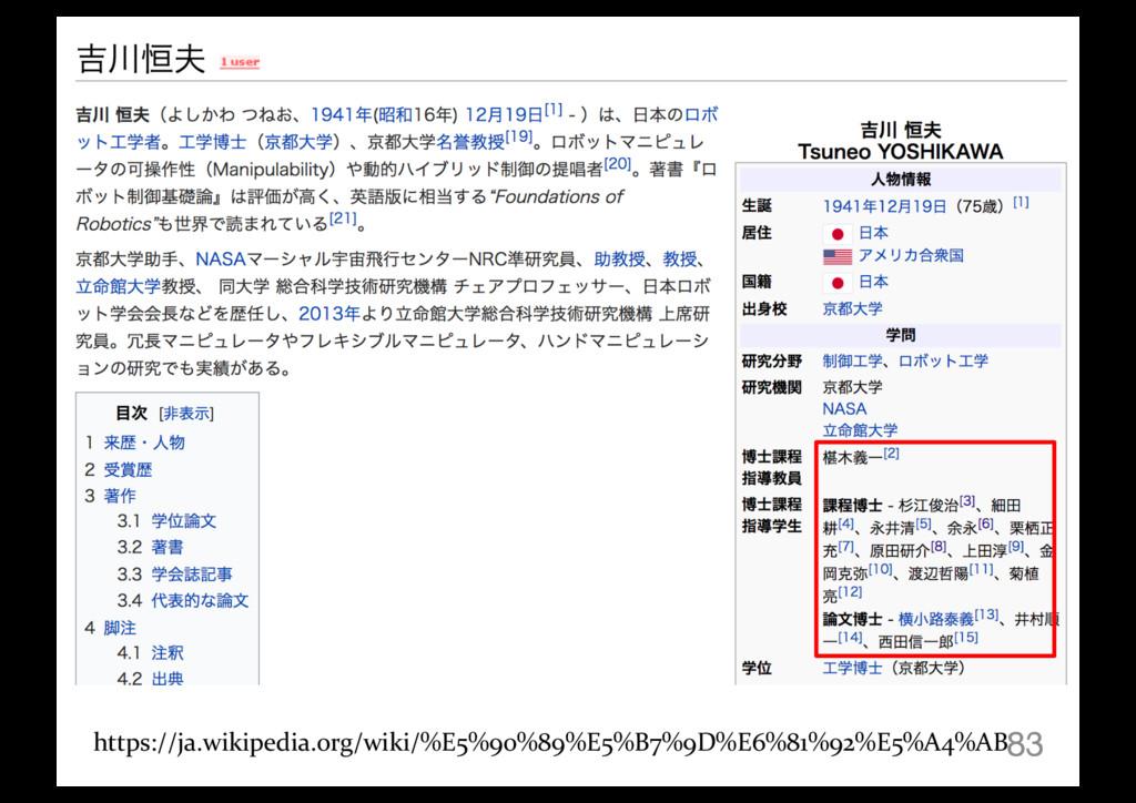 83 https://ja.wikipedia.org/wiki/%E5%90%89%E5%B...
