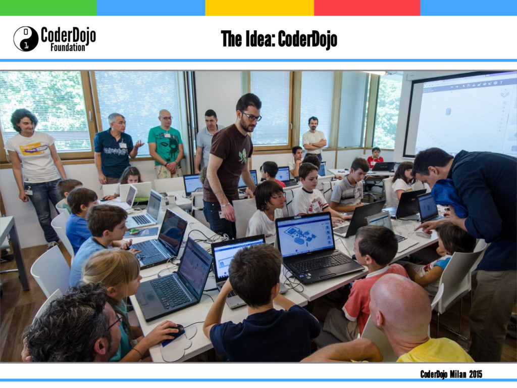 The Idea: CoderDojo CoderDojo Milan 2015