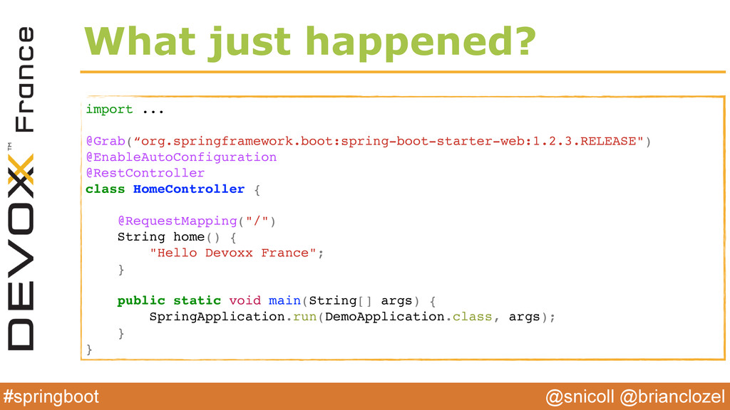 @snicoll @brianclozel #springboot What just hap...