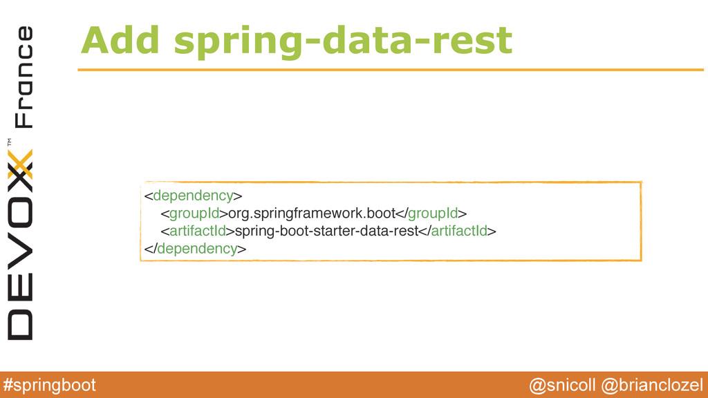 @snicoll @brianclozel #springboot Add spring-da...