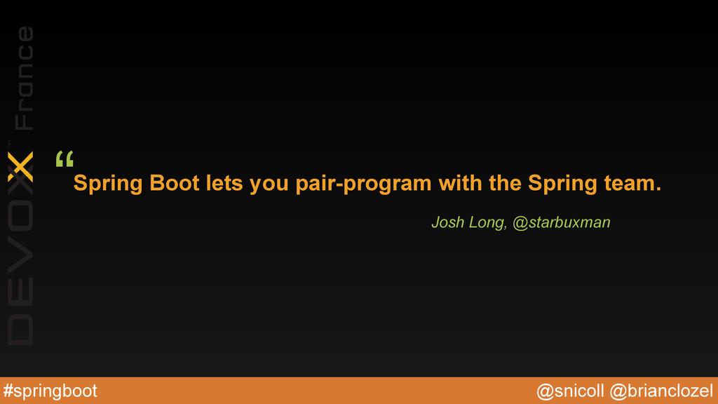 @snicoll @brianclozel #springboot Spring Boot l...