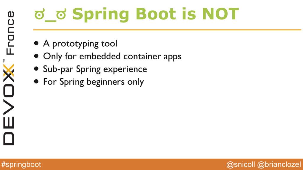 @snicoll @brianclozel #springboot ಠ_ಠ Spring Bo...