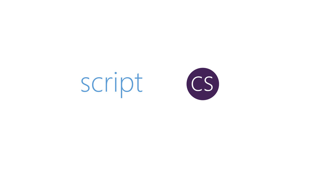 script cs