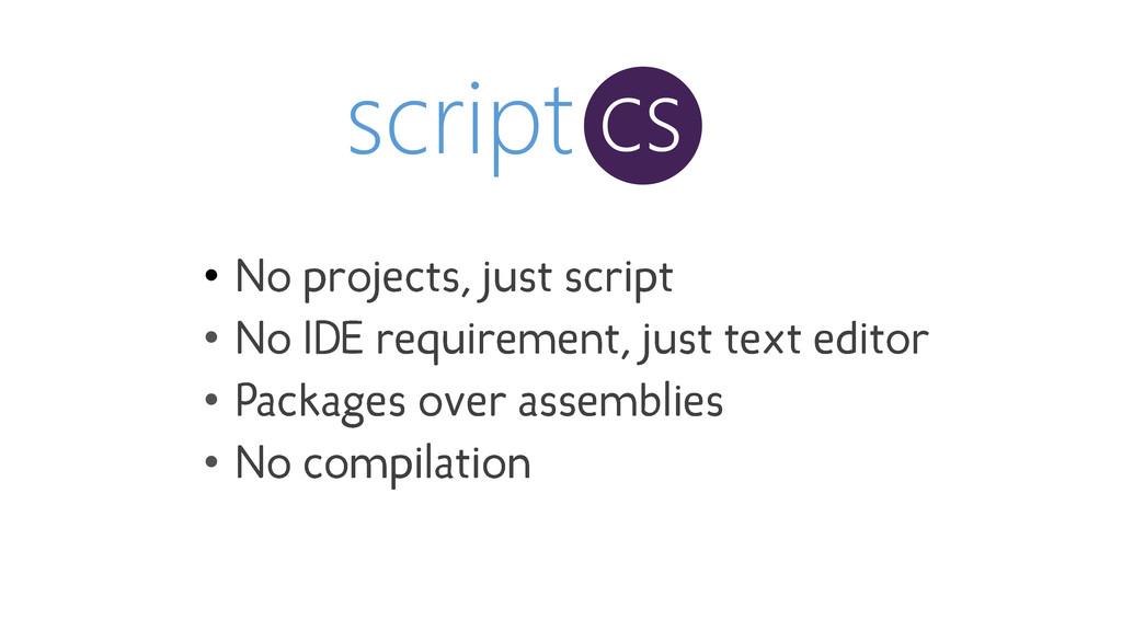 script cs • • • •