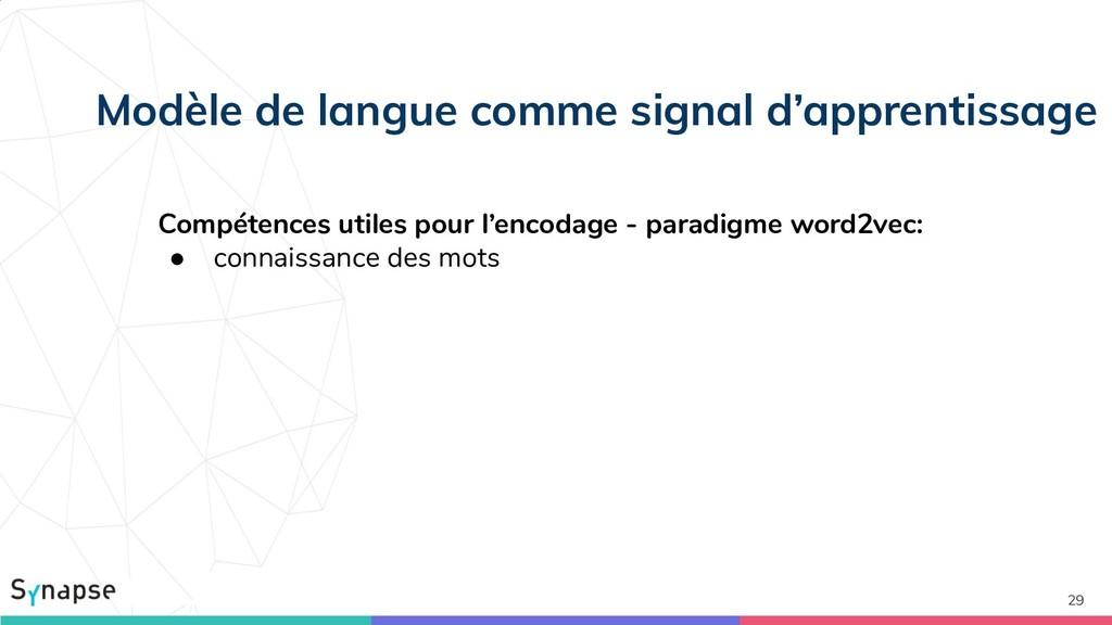 29 Modèle de langue comme signal d'apprentissag...