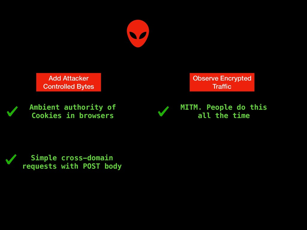 Add Attacker Controlled Bytes Observe Encrypted...