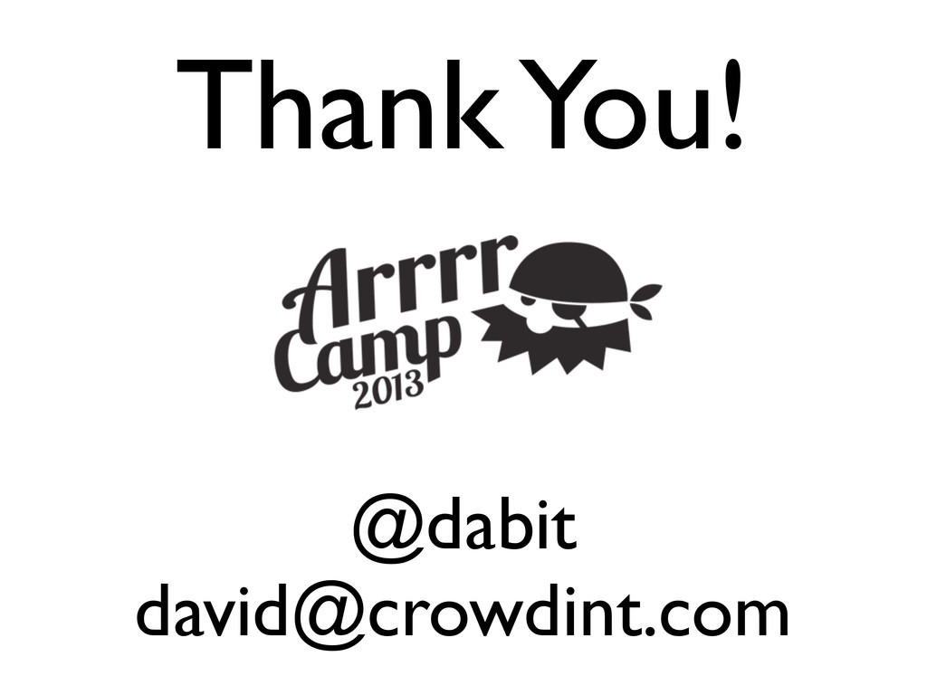 @dabit david@crowdint.com Thank You!