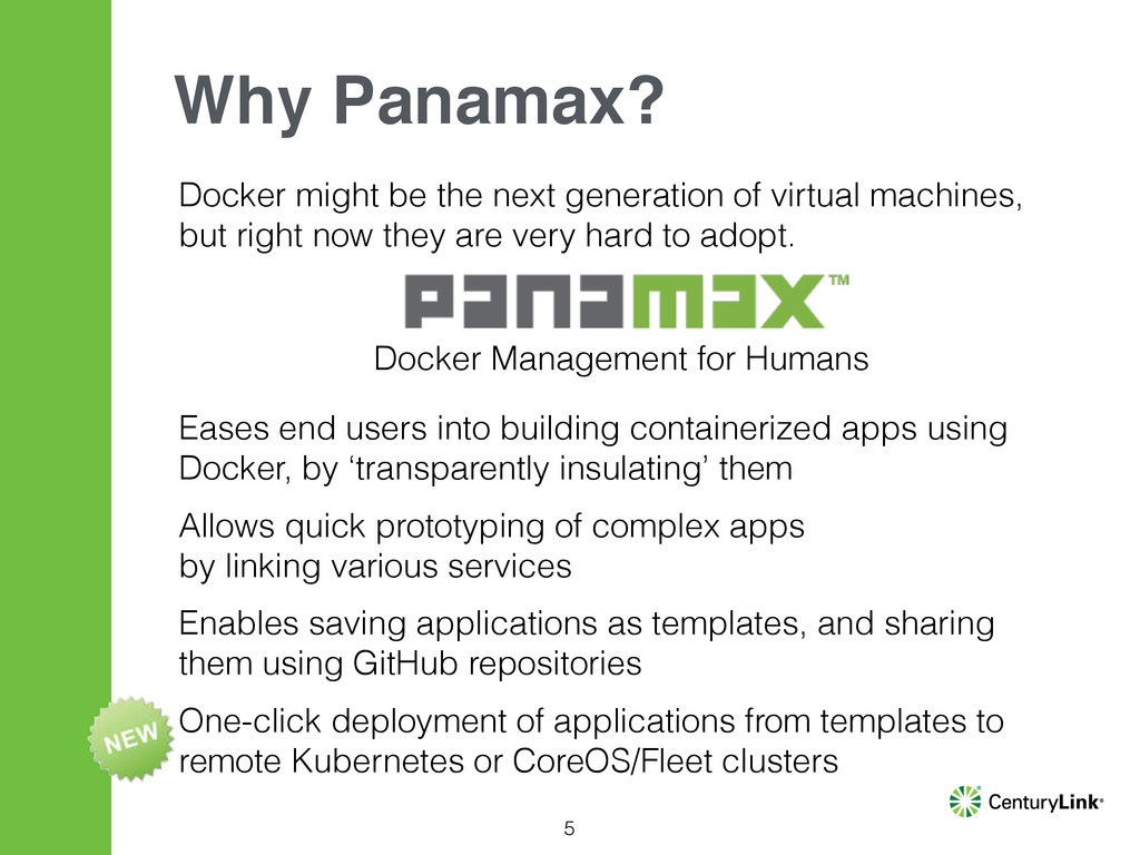 5 Why Panamax? Docker might be the next generat...