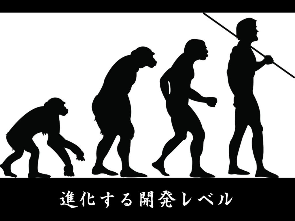 進化する開発レベル