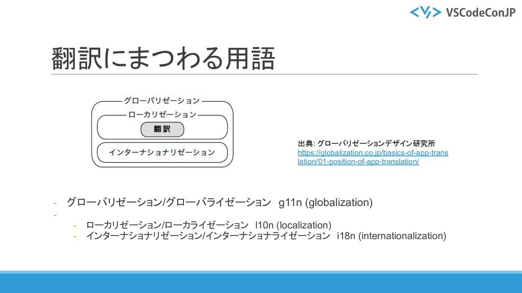翻訳にまつわる用語 - グローバリゼーション/グローバライゼーション g11n (global...