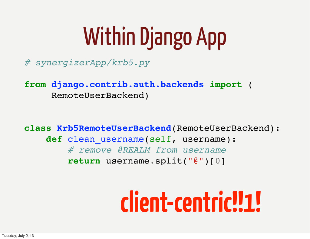 client-centric!!1! # synergizerApp/krb5.py from...