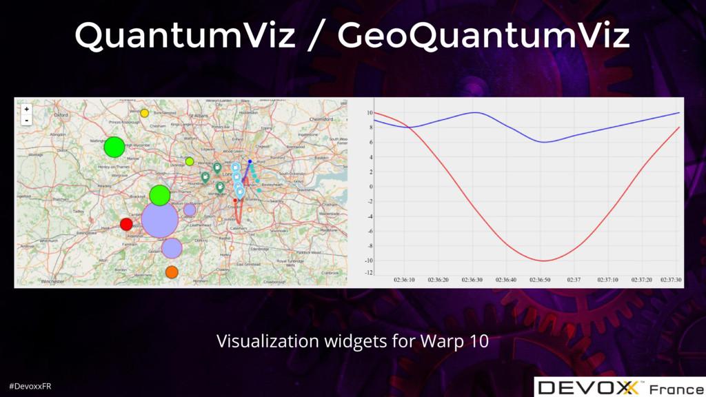 #DevoxxFR QuantumViz / GeoQuantumViz Visualizat...