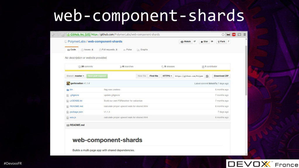 #DevoxxFR web-component-shards