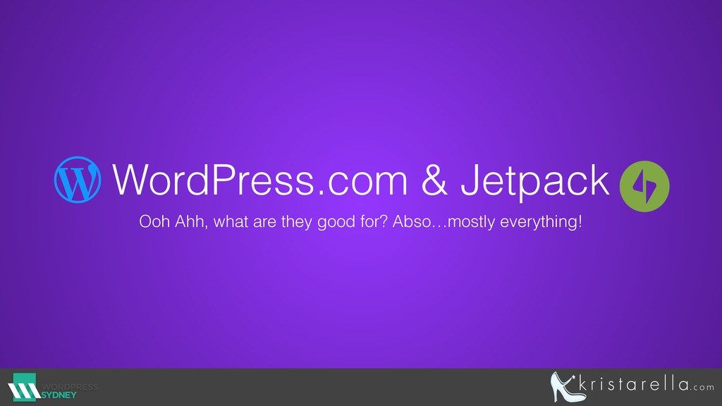 WordPress.com & Jetpack Ooh Ahh, what are they ...