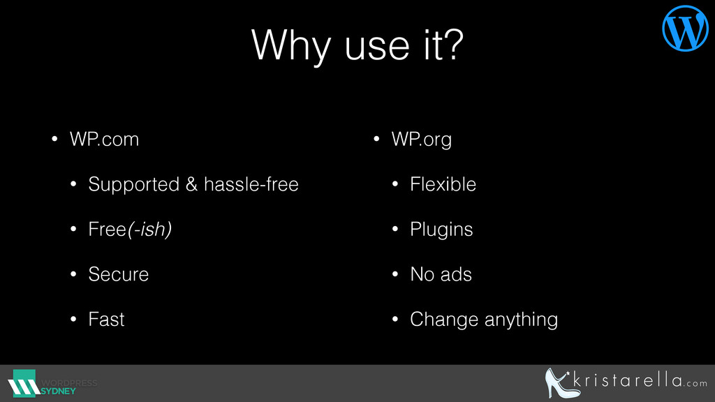 Why use it? • WP.com • Supported & hassle-free ...
