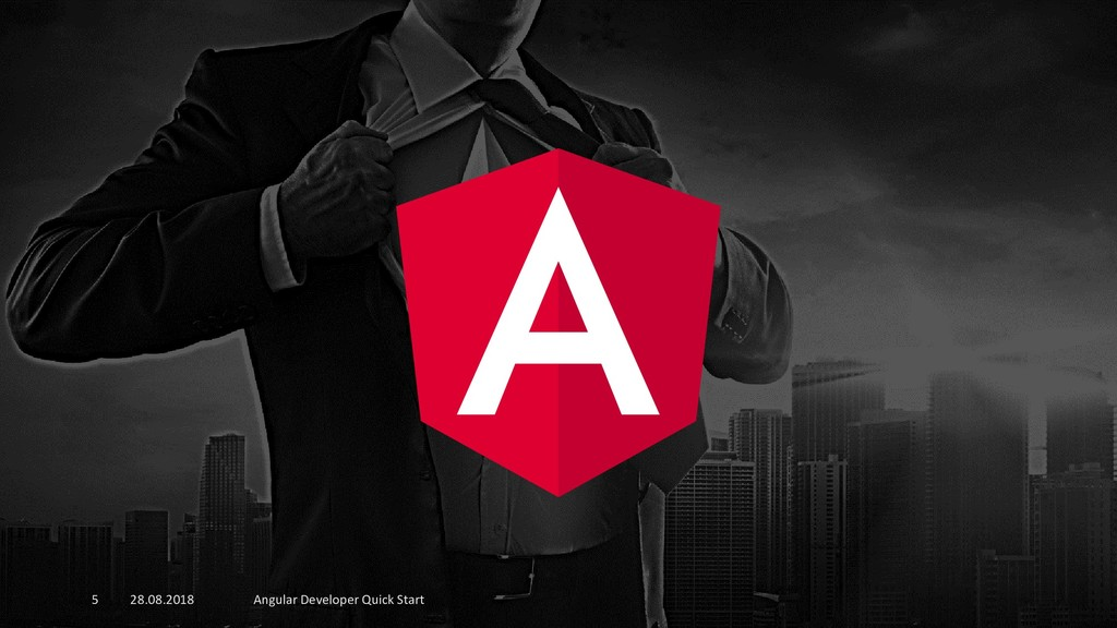 28.08.2018 Angular Developer Quick Start 5