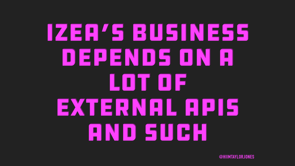 IZEA'S BUSINESS DEPENDS ON A LOT OF EXTERNAL AP...