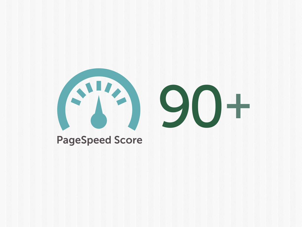 90 PageSpeed Score +