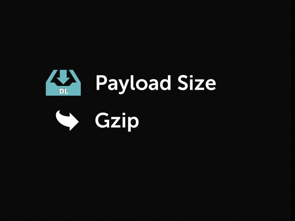 Gzip DL Payload Size