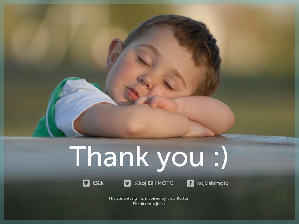 Thank you :) koji.ishimoto @kojiISHIMOTO t32k T...