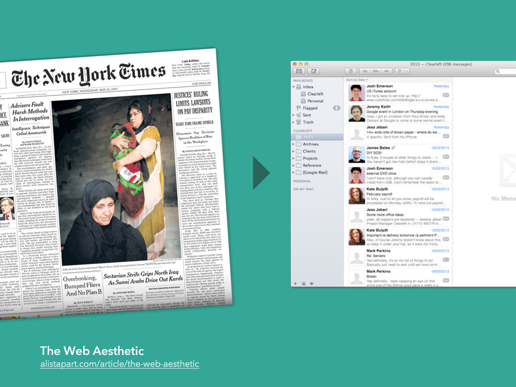 The Web Aesthetic alistapart.com/article/the-we...
