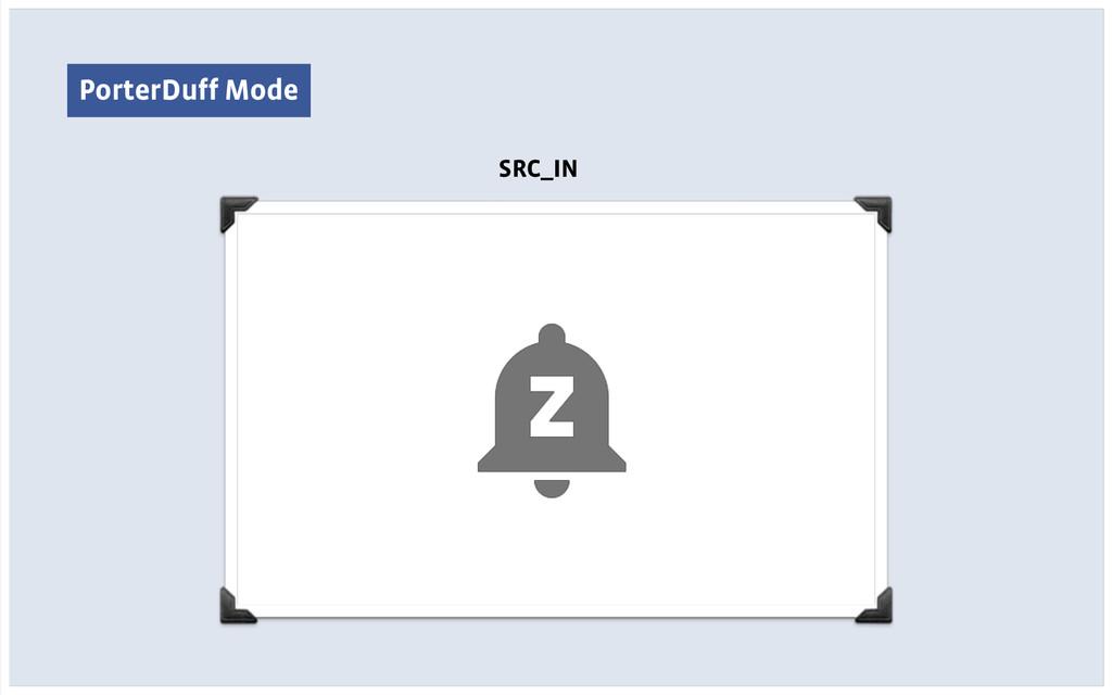 PorterDuff Mode SRC_IN