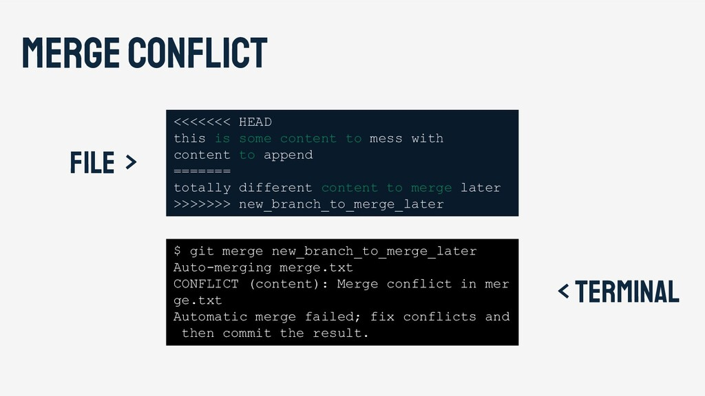 Merge conflict <<<<<<< HEAD this is some conten...