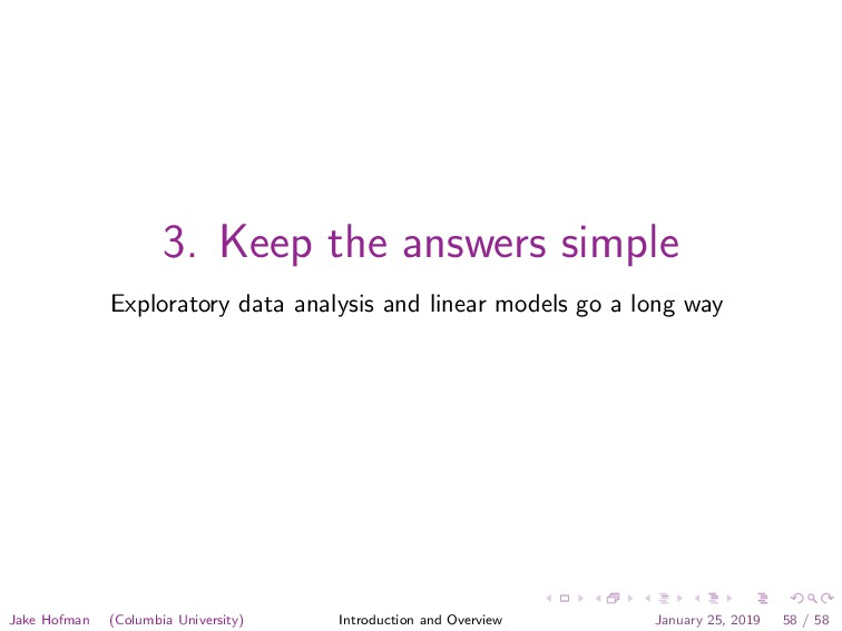 3. Keep the answers simple Exploratory data ana...