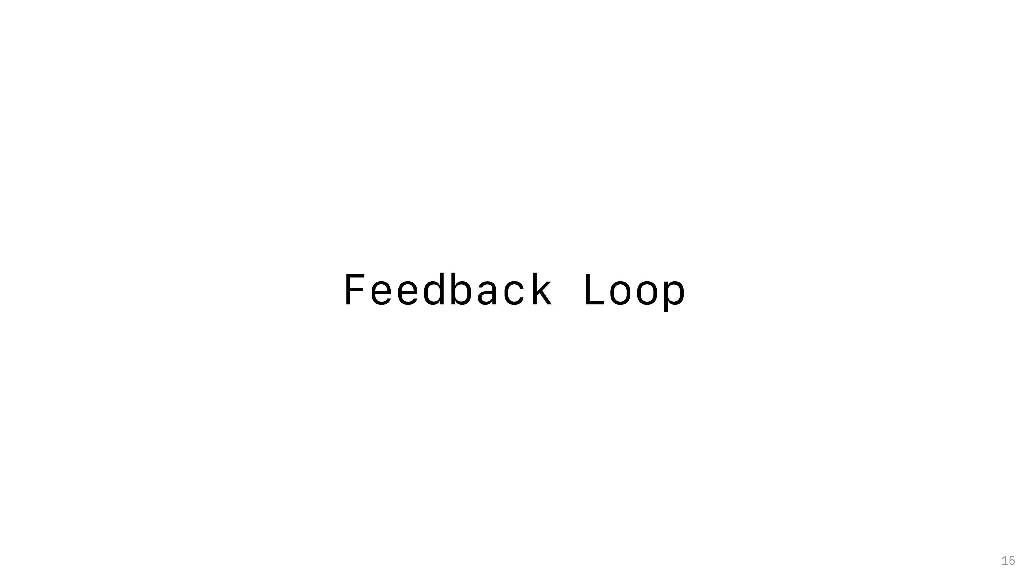 Feedback Loop 15