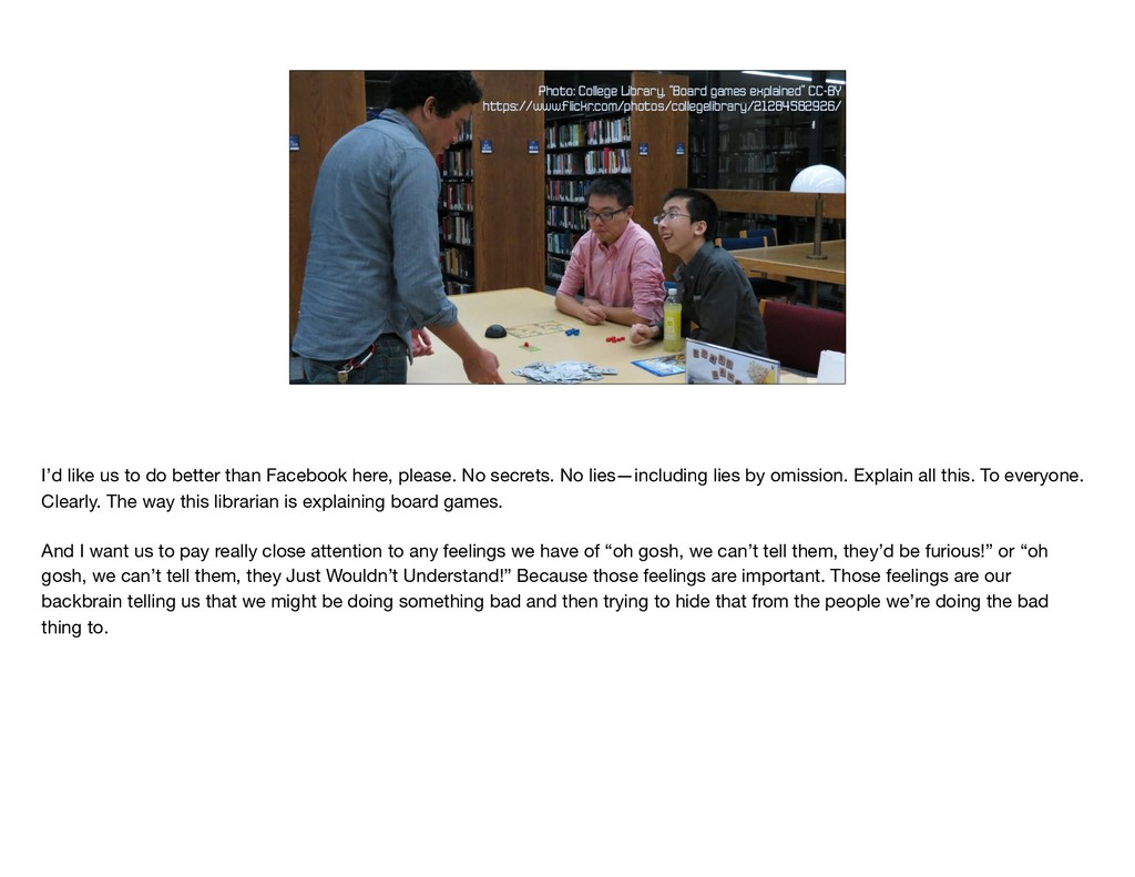 """Photo: College Library, """"Board games explained""""..."""