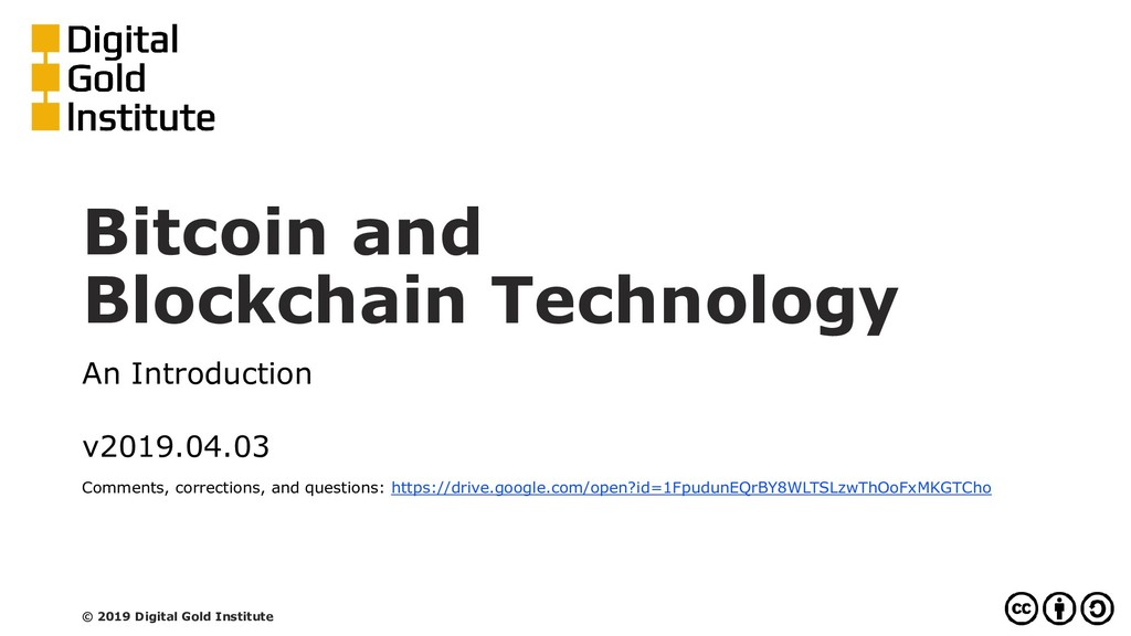 Bitcoin and Blockchain Technology An Introducti...