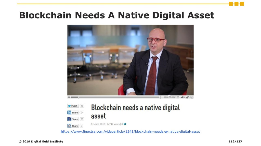 Blockchain Needs A Native Digital Asset https:/...