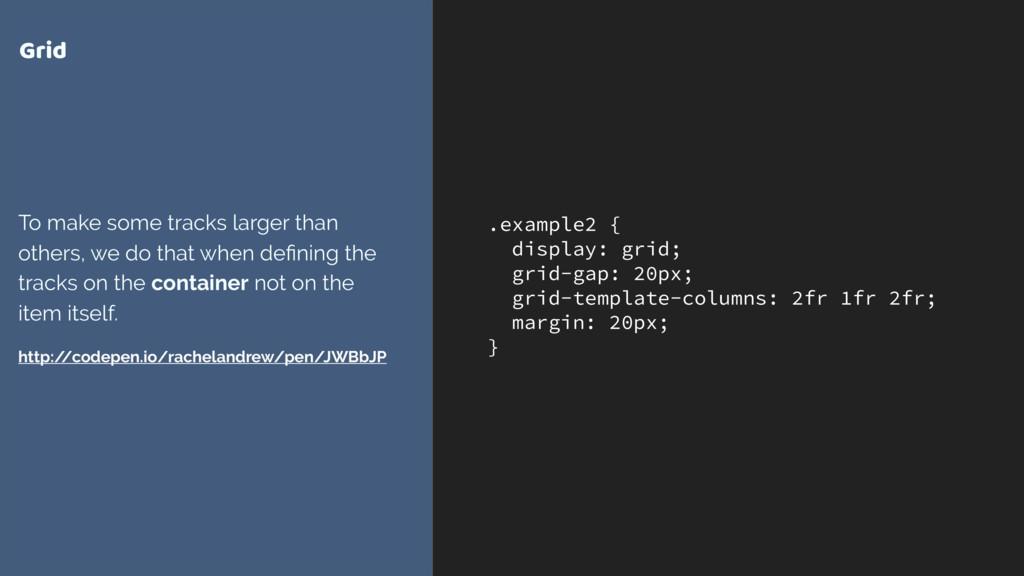 .example2 { display: grid; grid-gap: 20px; grid...