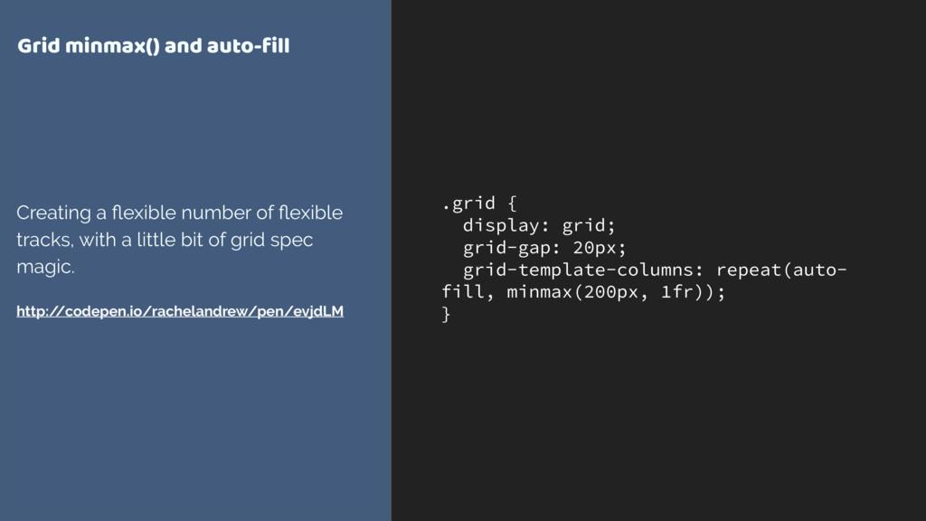 .grid { display: grid; grid-gap: 20px; grid-tem...