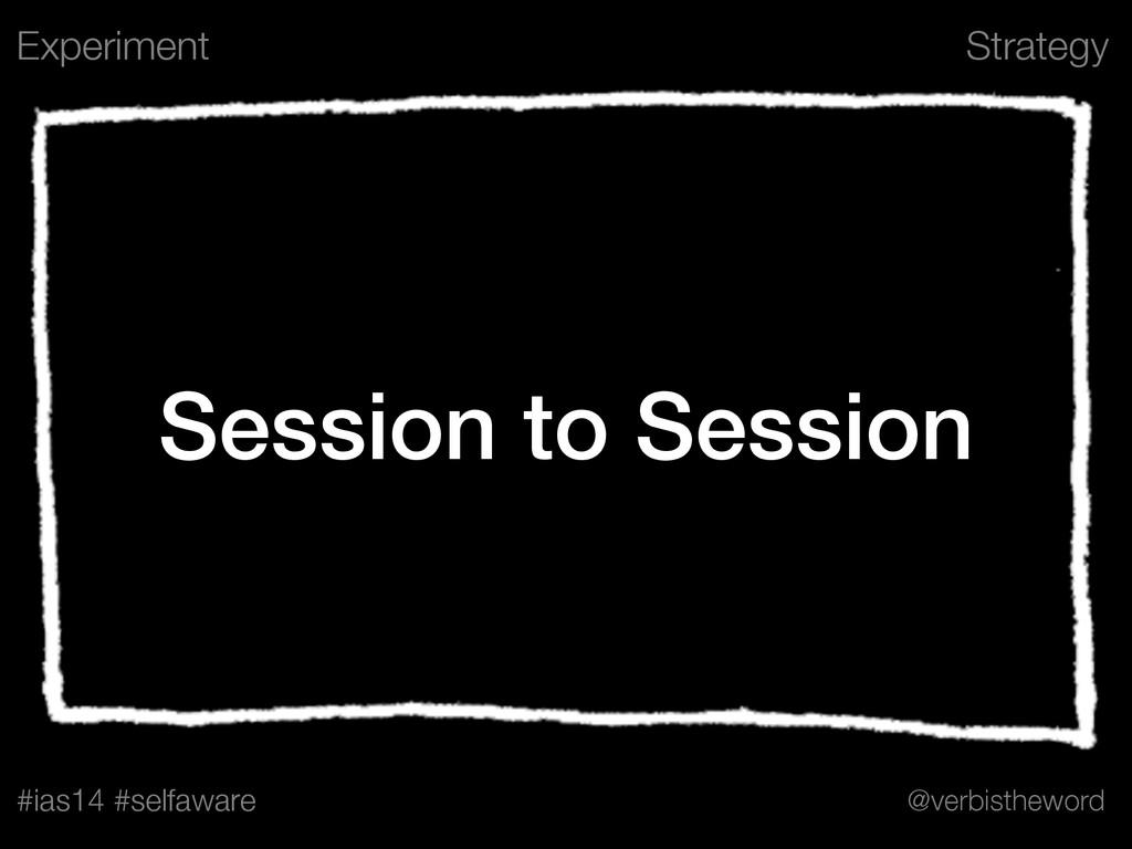 Strategy #ias14 #selfaware @verbistheword Sessi...