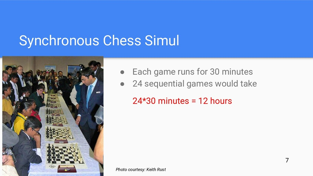 ● Each game runs for 30 minutes ● 24 sequential...