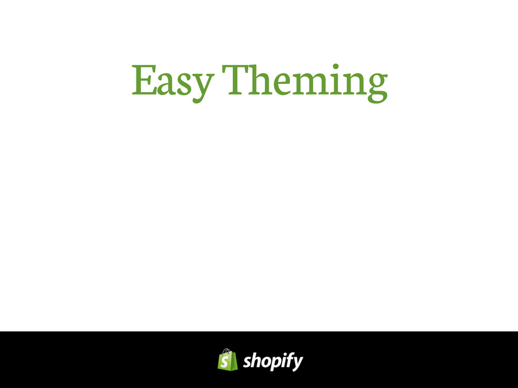 Easy Theming
